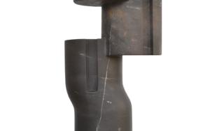 Composición cilíndrica sobre línea III|EsculturadeBorja Barrajón| Compra arte en Flecha.es