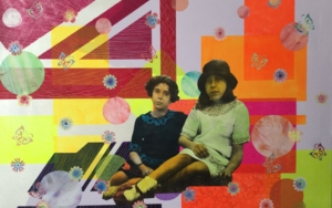 las primas|CollagedeOlga Moreno Maza| Compra arte en Flecha.es