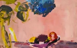 Hortensia|PinturadeLuz Parra| Compra arte en Flecha.es