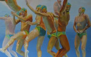 WATERPOLO|PinturadeJose Belloso| Compra arte en Flecha.es