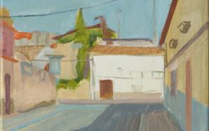Un lugar en la Mancha PinturadeIgnacio Mateos  Compra arte en Flecha.es