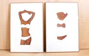 El molde y su huella II CollagedeAdriana Gurumeta  Compra arte en Flecha.es