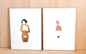 El molde y su huella I|CollagedeAdriana Gurumeta| Compra arte en Flecha.es
