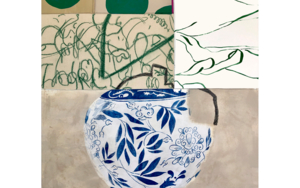 Floral Arrangement n.3 -  Edición limitada de 30  Glicée Prints Obra gráficadeNadia Jaber  Compra arte en Flecha.es