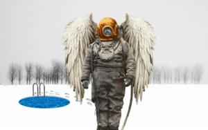 Frio lunar|CollagedeGabriel Aranguren| Compra arte en Flecha.es
