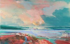 Rose Washed Sands 1 (Arenas rosadas) PinturadeMagdalena Morey  Compra arte en Flecha.es