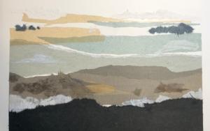 """Naturaleza horizontal I""|CollagedeLeticia González Serrano| Compra arte en Flecha.es"