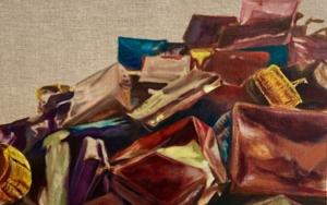 Forgive me, Mondrian|PinturadeODETTE BOUDET| Compra arte en Flecha.es