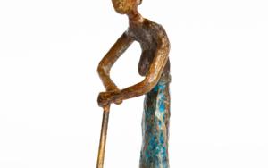Granjera famélica.  Serie Granja famélica|EsculturadeAna Valenciano| Compra arte en Flecha.es