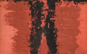 PERSONAJE ABRAZANDO|PinturadeLuis Granda| Compra arte en Flecha.es