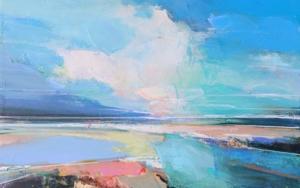 Winter Sky 2 PinturadeMagdalena Morey  Compra arte en Flecha.es