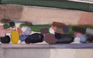 People on a bridge|PinturadeSaracho| Compra arte en Flecha.es