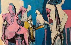 Peligro|PinturadeOscar Leonor| Compra arte en Flecha.es