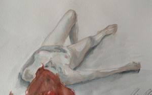 Nude V|DibujodeOliverPlehn-Artist| Compra arte en Flecha.es