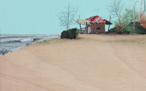 Un día de verano en otoño|CollagedeEduardo Query| Compra arte en Flecha.es
