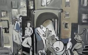 Charanga|PinturadeOscar Leonor| Compra arte en Flecha.es
