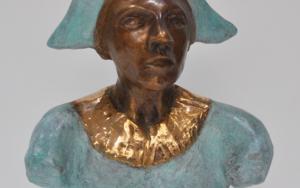 El busto del arlequín. EsculturadeJenifer Carey  Compra arte en Flecha.es