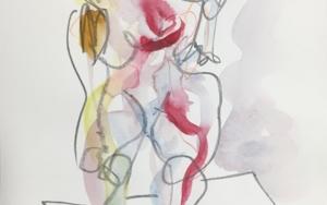 Mujer Plus DibujodeJaelius Aguirre  Compra arte en Flecha.es