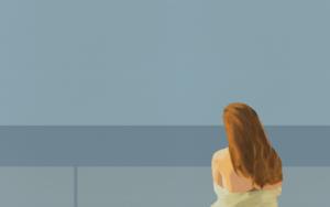 """Me and the world""|PinturadeDaniel Gibert| Compra arte en Flecha.es"