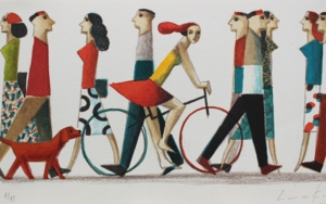 RED DOG|Obra gráficadeDidier Lourenço| Compra arte en Flecha.es