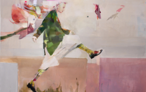 El salto|PinturadeAna Alcaraz| Compra arte en Flecha.es