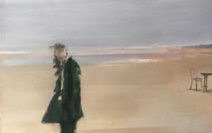 Figura en la playa 1 PinturadeAna Alcaraz  Compra arte en Flecha.es