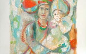 ÓRBITA MATERNA Obra gráficadeBettina Rebecca Westerheide  Compra arte en Flecha.es