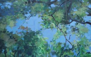 Green hope|PinturadeMarta Cuezva Porras| Compra arte en Flecha.es