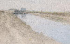 Marismas de Bonanza VII|PinturadeJosé Luis Romero| Compra arte en Flecha.es