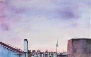 La bombilla|PinturadeLuis Imedio| Compra arte en Flecha.es