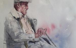 La siesta|PinturadeLuis Imedio| Compra arte en Flecha.es