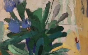 Agapanto|PinturadeCarolina Veramendi B| Compra arte en Flecha.es