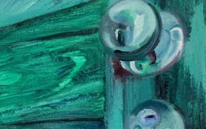 Contre- plongée|PinturadeODETTE BOUDET| Compra arte en Flecha.es