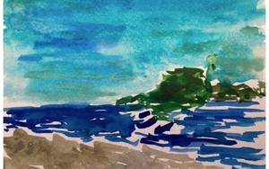 San Sebastián PinturadeSofía Mestre  Compra arte en Flecha.es