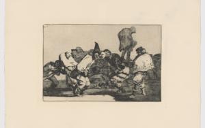 Disparates. Disparate de carnaval (Estampa 14)|Obra gráficadeFrancisco de Goya y Lucientes| Compra arte en Flecha.es