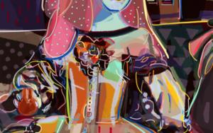 Menina|DigitaldeSantiago Esteban Glez| Compra arte en Flecha.es