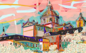 El Monasterio del Escorial DigitaldeSantiago Esteban Glez  Compra arte en Flecha.es
