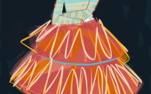 Figurín de Wendy|DigitaldeSantiago Esteban Glez| Compra arte en Flecha.es
