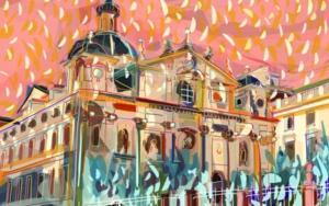 Parroquia de Santa Bárbara en Madrid DigitaldeSantiago Esteban Glez  Compra arte en Flecha.es