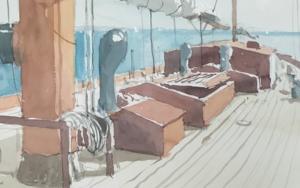 Trópico|PinturadeIñigo Lizarraga| Compra arte en Flecha.es