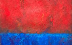 Red on the sky|PinturadeLuis Medina| Compra arte en Flecha.es
