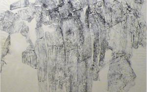 "Miradas II, Obra: ""Miradas de Ordesa"". Juan Guízar PinturadeJuanGuízar  Compra arte en Flecha.es"