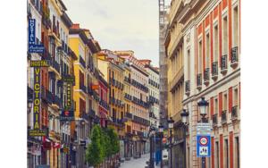 Calle de Carretas - Mas sola que nunca debido a la pandemia de la COVID-19|DigitaldeIván Abanades Medina| Compra arte en Flecha.es