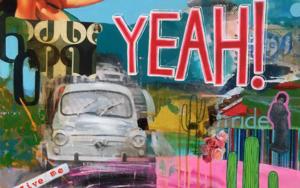 Yeah!|PinturadeMaría Burgaz| Compra arte en Flecha.es