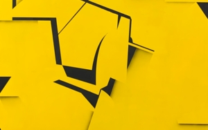 Black on yellow PinturadeJesús Zuazo  Compra arte en Flecha.es