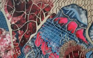 Corazón de cereza|CollagedeLoresaff| Compra arte en Flecha.es