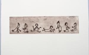 Gestos y posturitas 1|Obra gráficadeAna Valenciano| Compra arte en Flecha.es