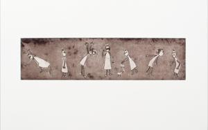 Gestos y posturitas 2|Obra gráficadeAna Valenciano| Compra arte en Flecha.es