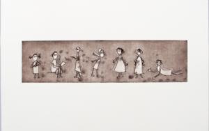 Gestos y posturitas 3|Obra gráficadeAna Valenciano| Compra arte en Flecha.es