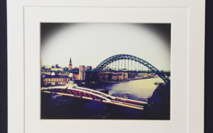 Tyne Bridge Enlgand landscape Acidfree paper Printed and Mounted in UK Origin FotografíadeJHIH YU CHEN  Compra arte en Flecha.es